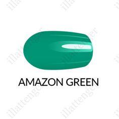 Körömlakk Gel Finish - zöld ml