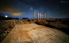 Stars over archaeological site (Sardinia, Italy) by Russo Francesco - f r p i x . c o m on 500px