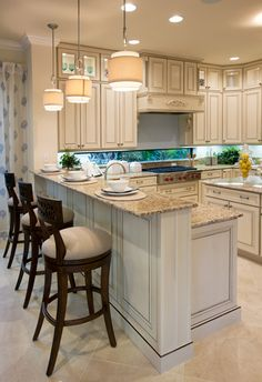 Home Decor Kitchen .Home Decor Kitchen Condo Kitchen, Kitchen Redo, Home Decor Kitchen, Kitchen Interior, New Kitchen, Home Kitchens, Kitchen Remodel, Kitchen With Bar Counter, Country Kitchen Counters