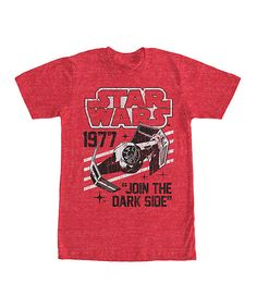 Red Heather Star Wars 'Vader's Domain' Tee