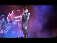 Adam Lambert Pop That Lock  Paso Robles, CA Mid-State Fair concert 7/19/2013