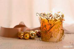 Luz y esferas | Wallpaper | Decoración de navidad
