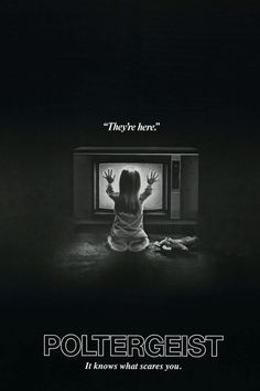 """""""Poltergeist"""" > 1982 > Directed by: Tobe Hooper > Horror / Haunted House Film /Supernatural Horror"""