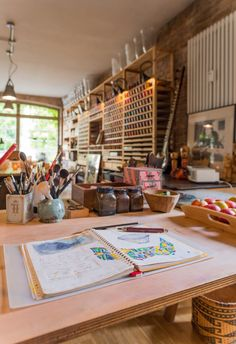 Studio Gosha of Fine Arts, Potsdam, Germany, photo by ©Torsten Fritsche