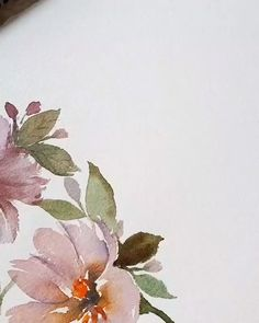Flower Drawing Discover Every Watercolor Flower Youll Ever Need Every Watercolor Flower Youll Ever Need Watercolor Painting Techniques, Watercolor Video, Watercolor Drawing, Watercolor Cards, Watercolor Illustration, Floral Watercolor, Watercolor Paintings, Watercolor Wood, Cherry Blossom Watercolor