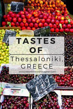 Eating my way through Thessaloniki, Greece on an amazing food tour!
