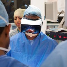 World' s first cancer surgery broadcast live in virtual reality! See BBC.com for the news! Innovation for medical training! #innovation #bbc #vr #virtualreality #medicalrealities #royallondonhospital #livestreaming #innovatie #interessant #mustsee #mustread #health #healthcare #news by brightcarenederland - Shop VR at VirtualRealityDen.com