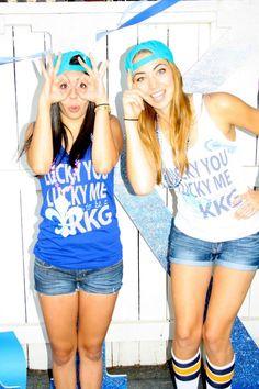 lucky you, lucky me. lucky to be a KKG. #KappaKappaGamma