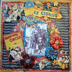 LE CIRQUE - Scrapbook.com