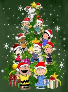 Charlie Brown Snoopy & The Peanuts Gang Merry Christmas Charlie Brown, Charlie Brown Tree, Merry Christmas Quotes, Peanuts Christmas, Charlie Brown And Snoopy, Christmas Greetings, Charlie Brown Christmas Decorations, Merry Christmas Pictures, Christmas Scenes