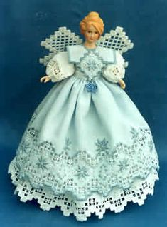 Annabell's Angel, 2003 Collector's Angel (Hardanger Embr.)(