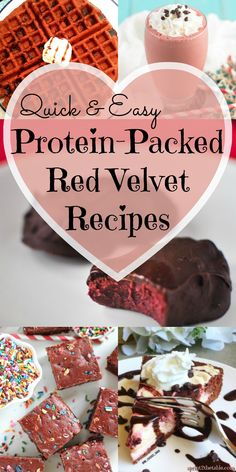 These protein-packed Red Velvet Valentine's Day treats won't leave you with any regrets… in terms ofnutrition, time spent, or (most importantly) taste! Vegas's favorite dessert is red velvet cake. When we first started dating I made her red velvet everything because I'm the best wife ever. However, she wasn't expecting the healthy, protein spin I'd...Read More »