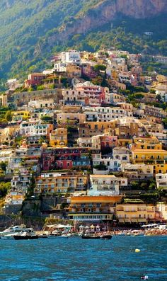 Photo: Beautiful Positano ~ Amalfi Coast, Italy