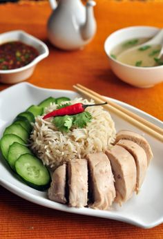 Served with love: Hainanese Chicken Rice