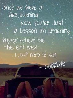 Goodbye - Who is fancy / lyrics, song lyrics, quotes, goodbye, goodbye quotes, music, music lyrics