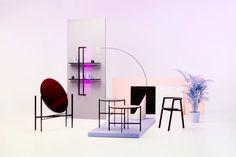 LSD Collection by Elina Ulvio - Design Milk Drawer Design, Shelf Design, Lamp Design, Best Interior, Interior Styling, Interior Design, Deco Furniture, Furniture Design, Wall Outlets