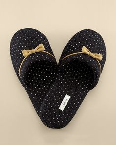 Soma Intimates Embraceable Slipper Little Dot Gold Foil #somaintimates My Soma Wish List Sweeps.