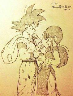 Goku y milk...