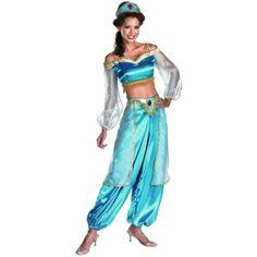 Disfraz chica Jasmine. Aladdin Precioso disfraz de la princesa Jasmine, vista en la película Aladín.