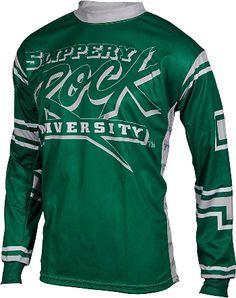 Slippery Rock Mountain Bike Jerseys, Mountain Biking, Slippery Rock, Sweatshirts, Mens Tops, How To Wear, Adobe Photoshop, Training, Sport