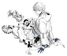 鶴丸と小虎