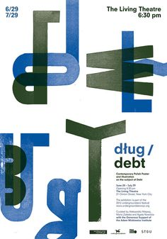 DŁUG / DEBT Contemporary Polish