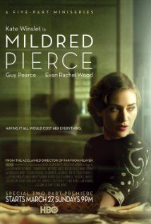 Mildred Pierce 2011, TV miniseries.  I mostly want to watch this for Guy Pearce.