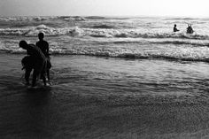 Marina Beach, Chennai, Urban, Black And White, Street, Water, Places, Life, Outdoor