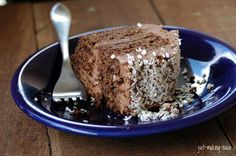 Chocolate Coconut Sourdough Cake w/ Chocolate Cream Cheese Frosting