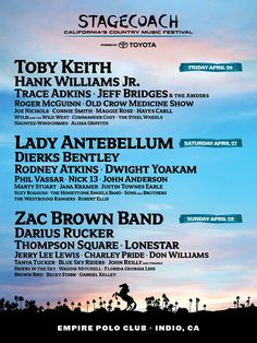Stagecoach Country Music Festival 2013 tickets are on sale now!