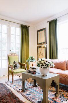 Tour Karen Elson's Elegant English-Inspired Nashville Home Photos | Architectural Digest