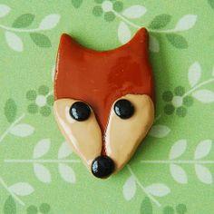 Fox Ring. £4.50 & £1 P&P. (Handmade polymer clay jewellery from Little Screechy's Magical Corner)