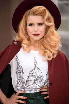 Paloma Faith signs with Next Model Management - Harper's BAZAAR Magazine Paloma Faith Hair, Pretty People, Beautiful People, Quirky Fashion, Vintage Glamour, Female Singers, Celebs, Celebrities, Vintage Hairstyles