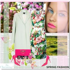 Ready for Spring, created by veroniqueleon on Polyvore