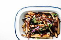 Honey Garlic Eggplant