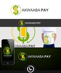Logo for AKWAABA PAY Logo Branding, Logos, Logo
