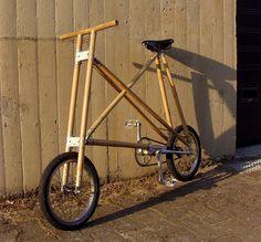 michael verhaeren's sustainable + compact bamboo bicycle