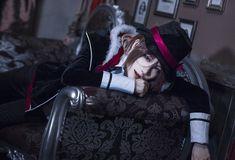 Steamed buns (诺馒头) asSakamaki Laito of Diabolik Lovers Kawaii Cosplay, Anime Cosplay, Diabolik Lovers Laito, Steamed Buns, Ayato, Kpop, Perfect Man, Pretty People, Anime Guys