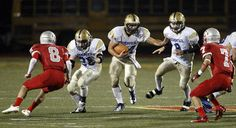 CCS Football Weekend Highlight: Soquel High's Fabiano Hale, center, rushed for 375 yards, six touchdowns. Story: http://www.santacruzsentinel.com/soquel/ci_22016062