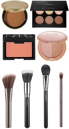 Basic Contour, Blush, and Highlight Tutorial