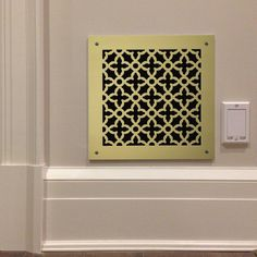 """225 Majestic Perforated Grille: 1¾"""" pattern - 52% open area"""