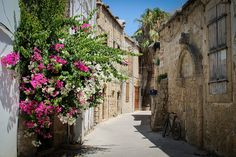 Medieval streets of Kyrenia in Northern Cyprus (by Donal O'C).