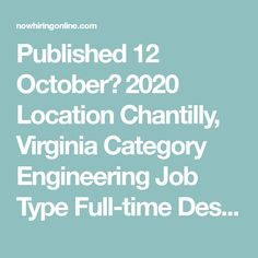 Published 12 October، 2020 Location Chantilly, Virginia Category Engineering  Job Type Full-time  Description Expected duties include: • Develop Java code that interacts with an Oracle Database to pull basic information, alter as necessary and build front end interface elements for an Entellitrak based application. • Ability to provide demonstrations of coded solutions as ... Interpersonal Communication, Communication Skills, Finding The Right Job, Oracle Database, Security Training, Engineering Jobs, 12 October, Progress Report, New Opportunities