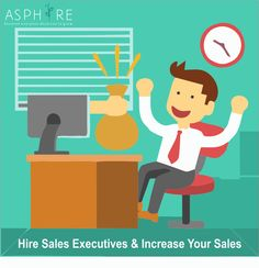 A sale is not something to pursue, it is to get immersed in serving a customer. Hire the smartest sales executives through asphire.in  and Increase Your Sales . Log on to :- www.asphire.in, Customer Care:- 08820050505, Registration missed call: - 8100050505 ‪#‎salesexecutives #jobs #hiring
