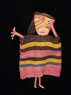 Chancay Textile Doll - 1960A46 by Birmingham Museum and Art Gallery, via Flickr