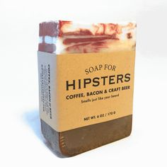 Smells just like your beard. Ah, hipsters. An almost completely passé concept at this point. But if we made a normcore soap, would it have to dress like Jerry Seinfeld? We swore off mom jeans back in