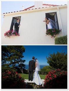 Alison & Shane's Palos Verdes Wedding at La Venta Inn
