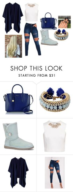 """cool style"" by kaja-232 ❤ liked on Polyvore featuring Radley, Ettika, UGG Australia and Ted Baker"