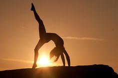 yoga poses in sunset | JonWHowson › Portfolio › Yoga Poses at Sunset 3