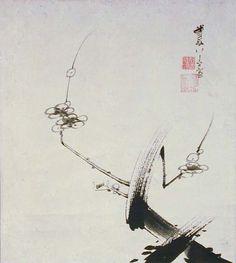 Ito Jakuchu - Plum Blossoms, 18th Century